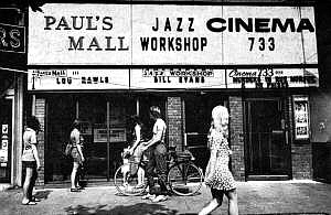 Paul's Mall - Jazz Workshop - Cinema 733 Boston